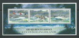 Cocos Keeling Island 1993 Air Sea Rescue Miniature Sheet MNH - Cocos (Keeling) Islands