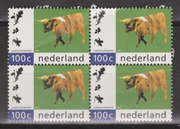 Netherlands Nederland Niederlande Pays Bas 1712 MNH Sheet ; Rund, Cow, Vache, Vacha Schotse Hooglander - Koeien