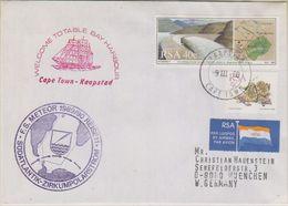 South Africa 1990 F.S. Meteor / Zirkumpolarstrom Cover Ca Cape Town 9 III 90 (39791) - Poolshepen & Ijsbrekers