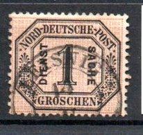 Conf De L'Allemagne Du Nord  / N 4 / 1 G Noir / Oblitéré - North German Conf.