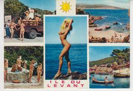 A628 /   ILE DU LEVANT  /  NU , NATURISTE , NATURISME - Hyeres