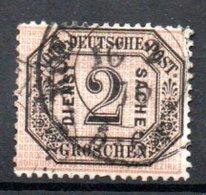 Conf De L'Allemagne Du Nord  / N 5 / 2 G Noir / Oblitéré - North German Conf.
