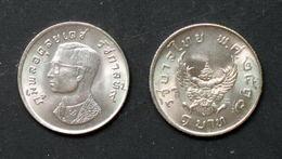 Thailand Coin Circulation 1974 1 Baht Garuda Y100 UNC - Thailand