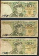 °°° POLAND POLSKA - 50 ZLOTYCH 1982 1988 °°° - Polonia