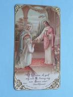 H. Communie Van Marie THYS Te Kerk H. Lambertus BEERSSE Op 21 Maart 1926 ( Zie/voir Photo ) ! - Communion