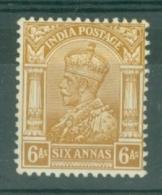 India: 1932/36   KGV      SG239    6a    MH - India (...-1947)