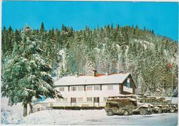 Vosges : Centre Militaire , Ski Et Montagne, Col Des Feignes Sous Valogne  , Camion - Jeep - France