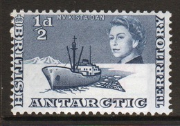 British Antarctic Territory 1963 ½d Blue Definitive Stamp In Unmounted Mint Condition. - Unused Stamps