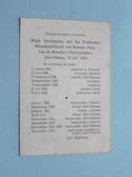 Diamanten Kloosterjubileum Broeder ALOÏS - Broeders Hiëronymieten Sint. NIKLAAS 13 Juli 1958 ( Zie/voir Photo ) ! - Godsdienst & Esoterisme