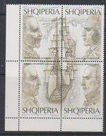 Albania 1995 Explorers 4v  (corner)  ** Mnh (39802B) - Albanië