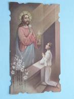 H. Communie Van JOZEF JANSEN I/d Parochiekerk Van NEERPELT Op 3 April 1938 ( Zie/voir Photo ) ! - Communion