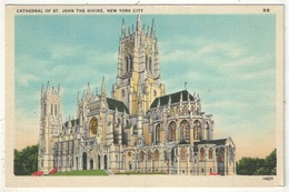Cathedral Of St. John The Divine, New York City - Églises