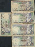 °°° TURKEY - 10000 LIRA 1970 °°° - Turquie