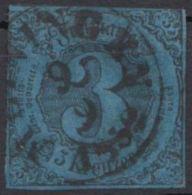 """Mi-Nr. 8, """"Meiningen"""", Zentr. Ortsstempel, O - Thurn Und Taxis"""