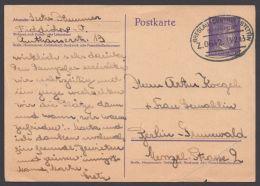 """Breslau-Cüstrin- Stettin"", Bedarfs-GS, 1943 - Briefe U. Dokumente"
