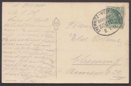 """""""Chemnitz- Wechselburg"""",Bedarfs-AK, 1914 - Briefe U. Dokumente"""