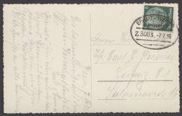 """Erfurt- Themar"", Bedarfs-AK, 1936 - Briefe U. Dokumente"