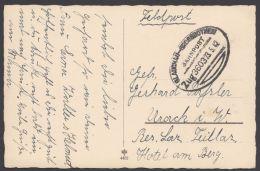 """""""Glauchau- Grossbothen"""", Feldpost, 1942 - Deutschland"""