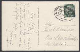 """Königs Wusterhausen- Grunow"", Oval, 1937 Auf AK - Briefe U. Dokumente"
