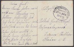 """""""Reichenbach- Eger"""", Feldpost, 1915 - Briefe U. Dokumente"""