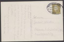 """Würzburg- Meiningen"", Bedarfs-AK, 1932 - Briefe U. Dokumente"