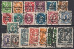 """Mi-Nr. 119/38, """"Bayern- Aufdrucke"""", Bedarfssatz, O - Deutschland"""