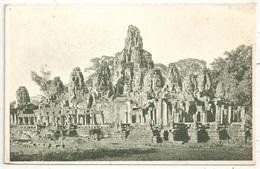 Bayon - Vue D'ensemble Prise Du Sud-Ouest - Cambodge