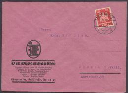 """Mi-Nr. 357, EF Auf Dek. Firmenbrief """"Der Drogenhändler"""", Ebenwalde - Deutschland"""
