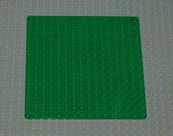 Légo Vintage Baseplate 16 X 16 Ref 3867 Vert - Lego Technic