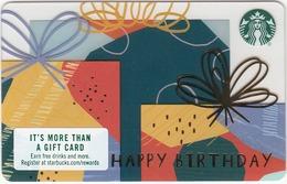 USA STARBUCKS - Siren  Sparkle , CN : 6154 - Gift Cards