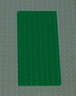 Légo Vintage Baseplate Ref 3865 8x16 Vert - Lego Technic