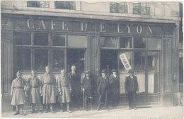 Commerce – Café De Lyon ( Rue De Belfort ), Besançon ?  ( CPh ) - Cafés