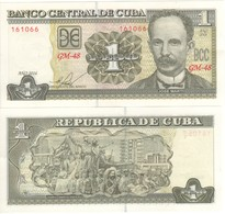 CUBA  1  Peso    New Date  2016    ( Pnew )       UNC - Cuba