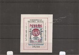 Panama - Réfugiés ( BF 10 XXX -MNH) - Panama