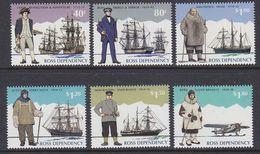 Ross Dependency 1995 Antarctic Explorers 6v ** Mnh (39803) - Ross Dependency (Nieuw-Zeeland)