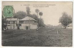 CONAKRY - La Rue Du Commerce (la Principale) - Comptoir Parisien 31 - 1905 - Guinée Française