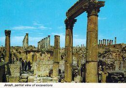 1 AK Jordanien Jordan * Das Antike Jerash (auch Gerasa) - Eine Antike Römische Stadt * - Jordanien