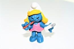 Smurfs Nr 20139#3 - *** - Stroumph - Smurf - Schleich - Peyo - Secretary - Ladies - Schtroumpfs