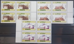 05- Ethiopia 2011 SG 1944-1946 Cplte Set 3v. MNH - Mosques - Blks/4 - Ethiopië