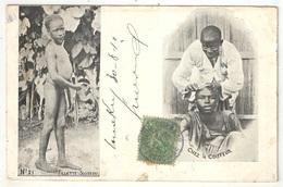 Guinée Française - Fillette Soussou - Chez Le Coiffeur - 1910 - Guinée Française