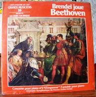 33 TOURS N° 16 VINYLE GRANDS MUSICIENS 1 LIVRE + 1 DISQUE  1990 ! NEUF BRENDEL JOUE BEETHOVEN FILM PLASTIQUE D'ORIGINE - Classique