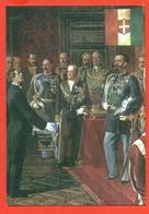 RE E RGNANTI - POLITICI - VITTORIO EMANUELE II° - CAVOUR- MARCOFILIA - Militaria