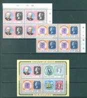 BAHAMAS -  MNH/** 1979 - ROWLAND HILL - Yv 438 440 BLOC 27 -  Lot 17729 - Bahamas (1973-...)