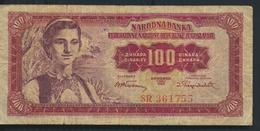 °°° JUGOSLAVIA 100 DINARA 1955 °°° - Jugoslavia