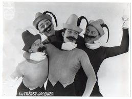 """Artiste-Chanteurs-Musiciens-""""Les Frères Jacques"""" --Photo De Spectacle --format  23cm X 17cm - Chanteurs & Musiciens"""