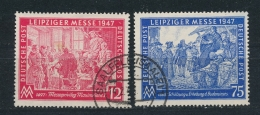 Duitsland/Germany All. Bezetting/ All Occupation 1947 Mi: 965-966 (Gebr/used/obl/o)(3654) - Amerikaanse, Britse-en Russische Zone