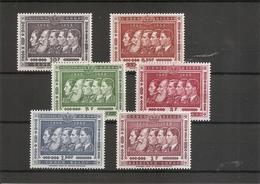 Congo Belge ( 344/349 XXX -MNH) - 1947-60: Mint/hinged