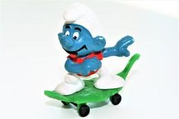 Smurfs Nr 40204#1 - *** - Stroumph - Smurf - Schleich - Peyo - Skateboard - Smurfs