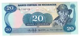 Nicaragua 20 Cordobas 1985 UNC .C2. - Nicaragua