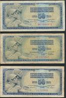 °°° JUGOSLAVIA 50 DINARA 1968/1978 °°° - Jugoslavia